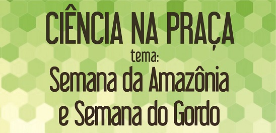 fundo verde, escrita em marrom