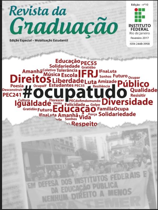 Capa da 10ª Edição da Revista Graduação