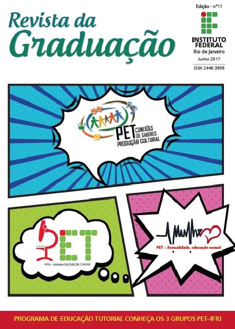 Capa da 11ª Edição da Revista Graduação