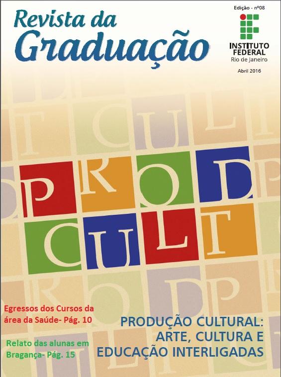Capa da 8ª Edição da Revista Graduação
