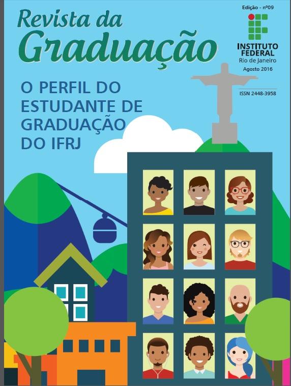 Capa da 9ª Edição da Revista Graduação