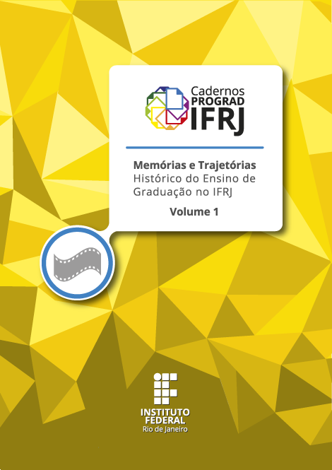 Capa do volume 1 dos Cadernos PROGRAD IFRJ