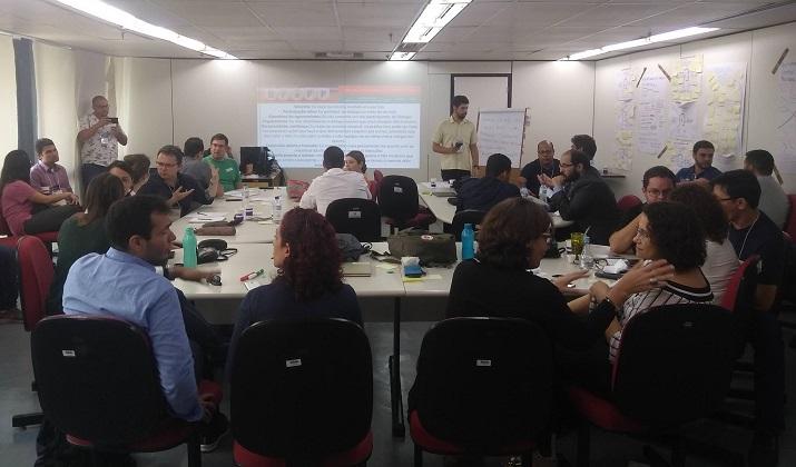 Programa Brasileiros Formando Formadores (BraFF) - sala cheia